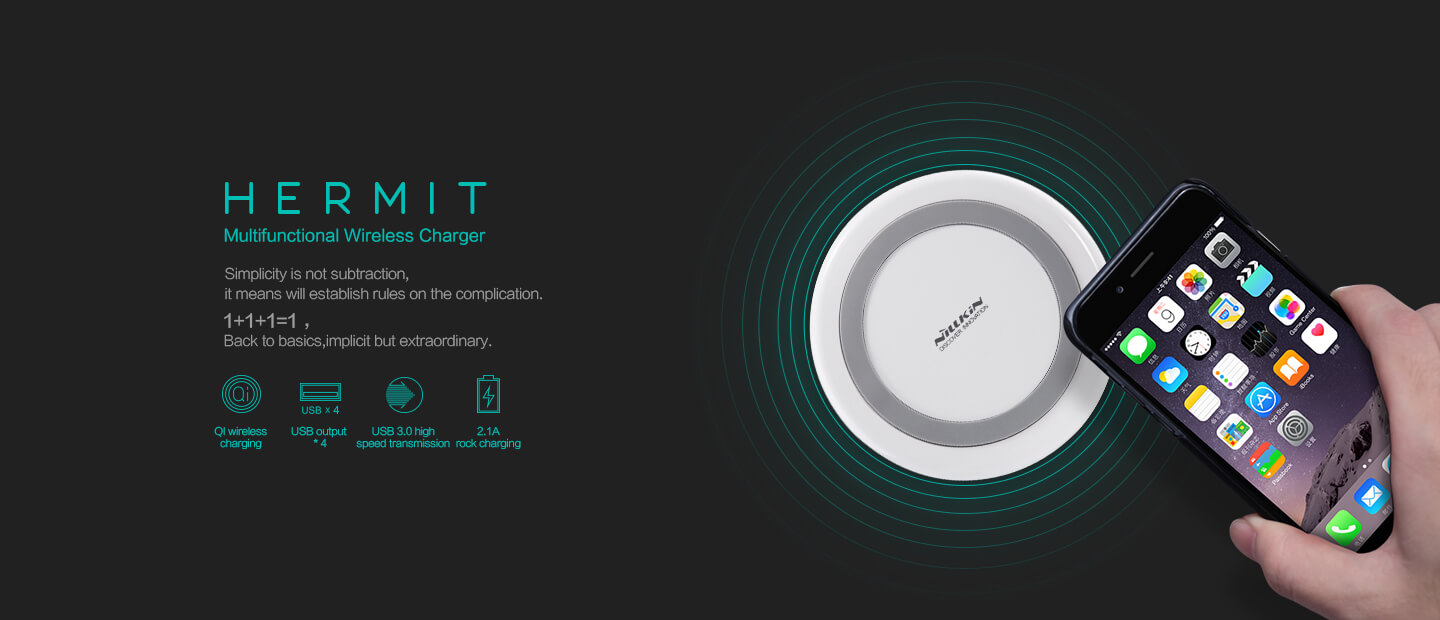 NILLKIN Wireless charger Hermit Multifunctional QI
