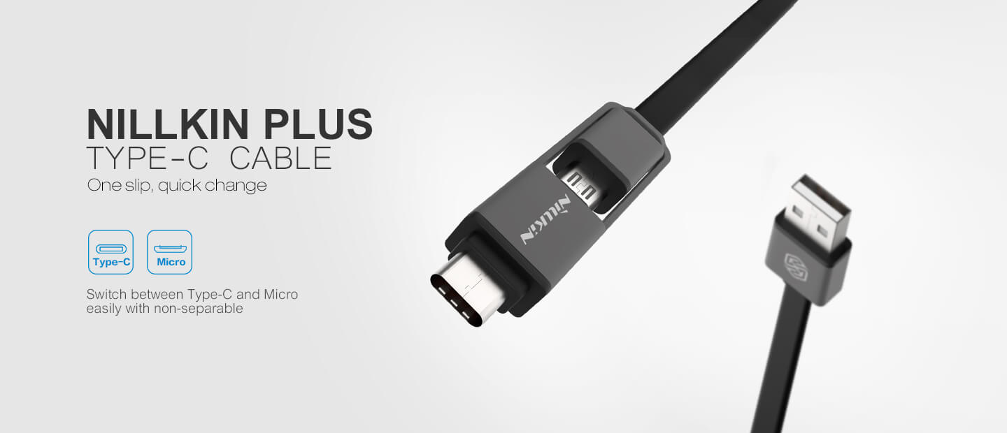 Nillkin Plus (Type C) Cable (Micro port) high quality cable