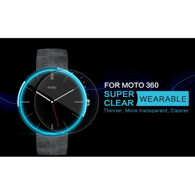 Nillkin Super Clear Anti-fingerprint Protective Film for Smartwatch Motorola Moto 360 order from official NILLKIN store