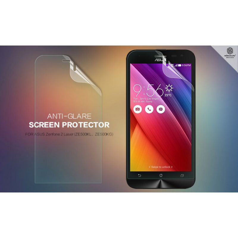 Nillkin Matte Scratch-resistant Protective Film for ASUS ZenFone 2 Laser 5.0 (ZE500KL ZE500KG) order from official NILLKIN store