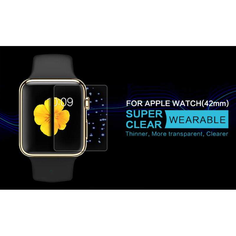 Nillkin Super Clear Anti-fingerprint Protective Film for Apple Watch 42mm order from official NILLKIN store