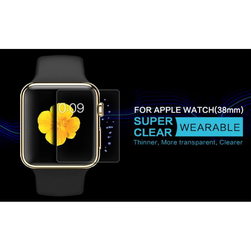 Nillkin Super Clear Anti-fingerprint Protective Film for Apple Watch 38mm order from official NILLKIN store