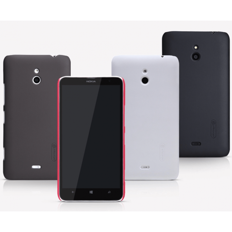 Nillkin Super Frosted Shield Matte cover case for Nokia Lumia 1320 + free screen protector order from official NILLKIN store