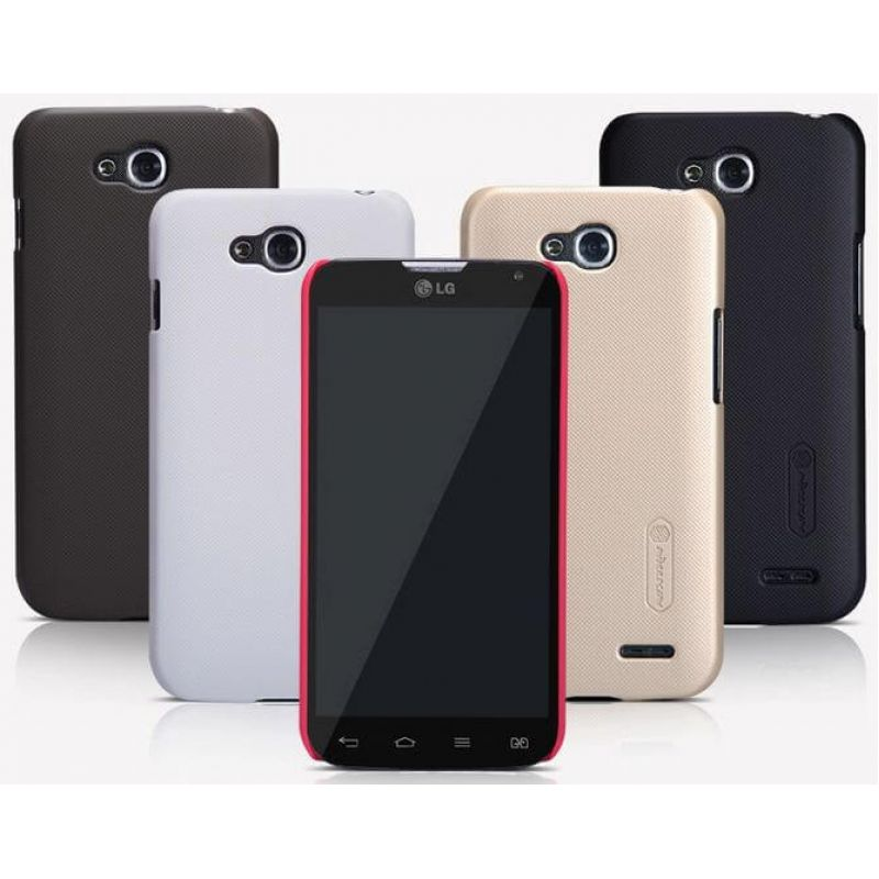 Nillkin Super Frosted Shield Matte cover case for LG L90 (D410) + free screen protector order from official NILLKIN store