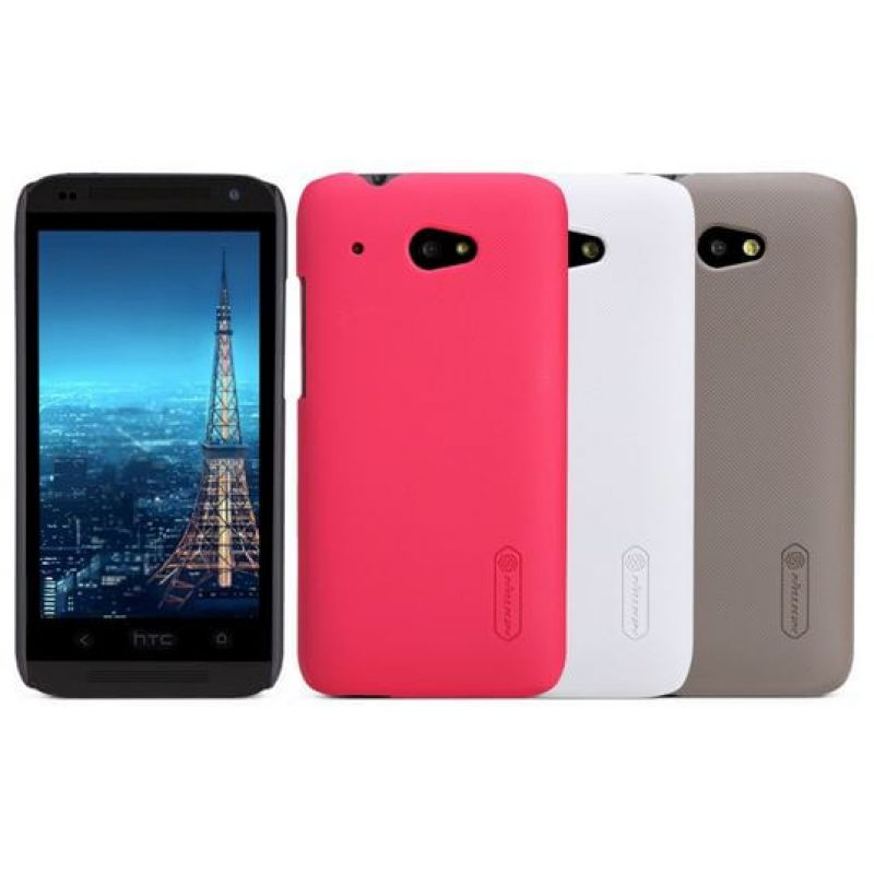Nillkin Super Frosted Shield Matte cover case for HTC Desire 601 (619D) + free screen protector order from official NILLKIN store