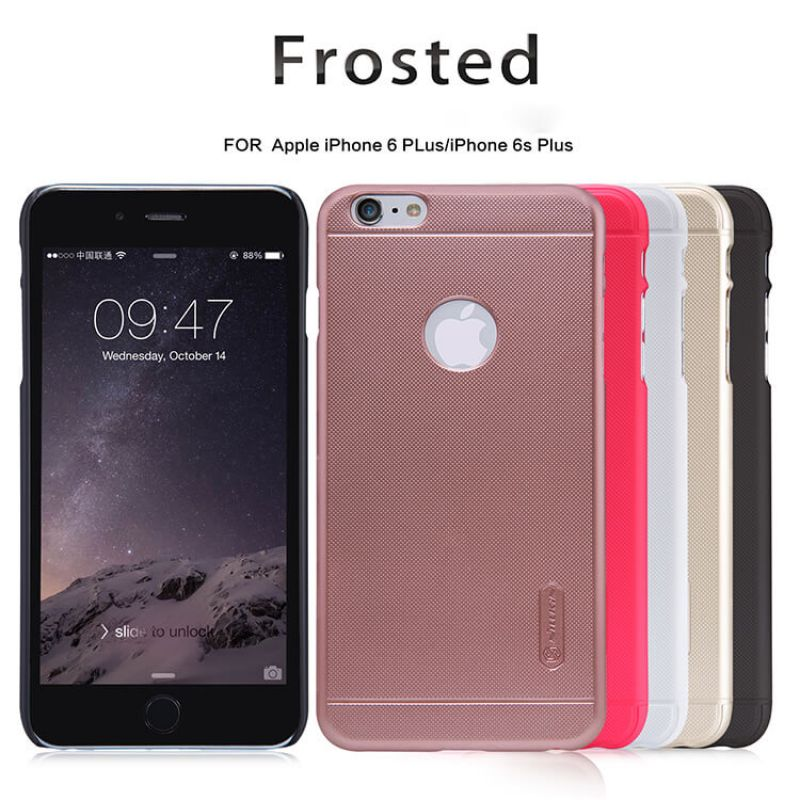 Nillkin Super Frosted Shield Matte cover case for Apple iPhone 6 Plus / 6S Plus + free screen protector order from official NILLKIN store