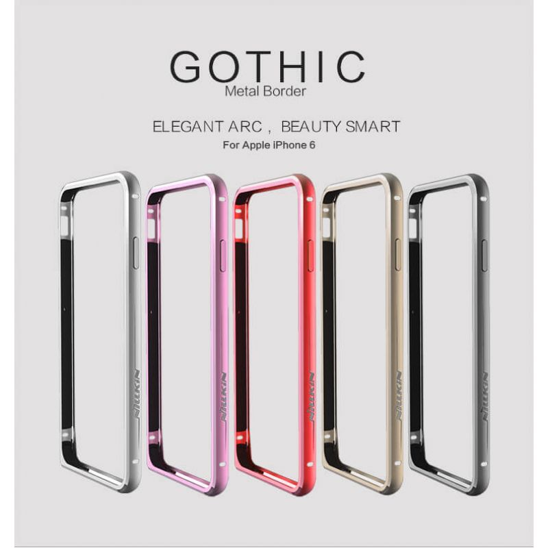Nillkin GOTHIC Metal Frame for Apple iPhone 6 / 6S order from official NILLKIN store