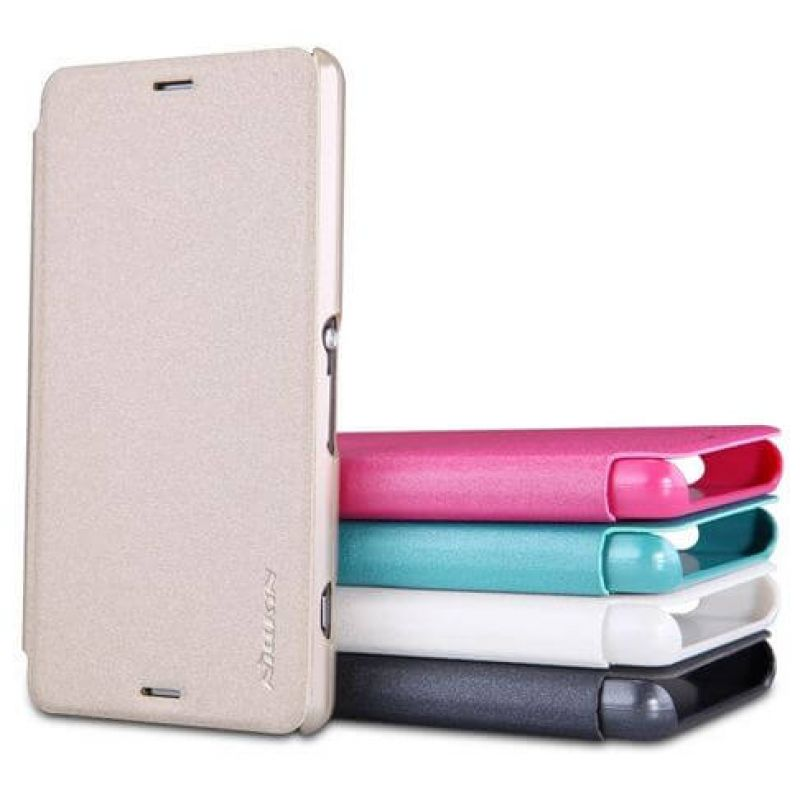 Nillkin Sparkle Series New Leather case for Sony Xperia Z3 ...