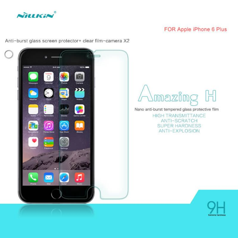 Nillkin Amazing H tempered glass screen protector for Apple iPhone 6 Plus / 6S Plus order from official NILLKIN store