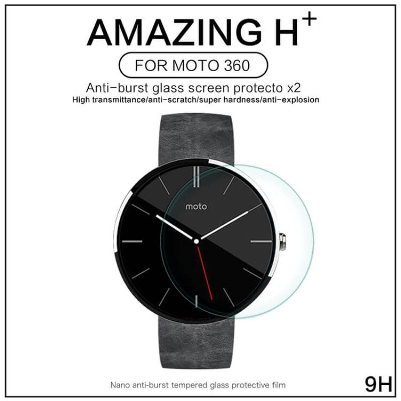 Nillkin Amazing H+ tempered glass screen protector for Smartwatch Motorola Moto 360 order from official NILLKIN store
