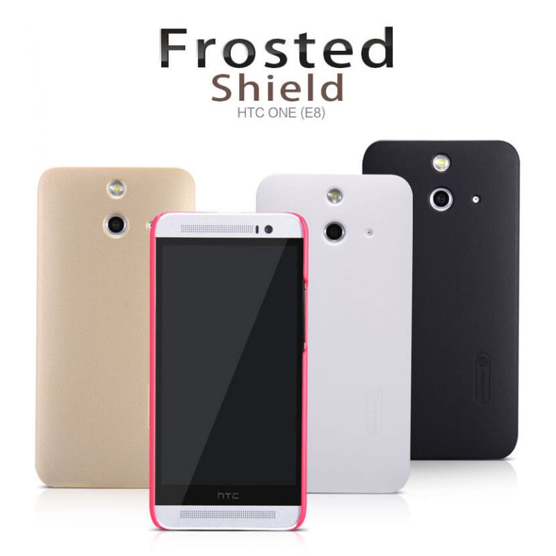 Nillkin Super Frosted Shield Matte cover case for HTC One (E8) + free screen protector order from official NILLKIN store