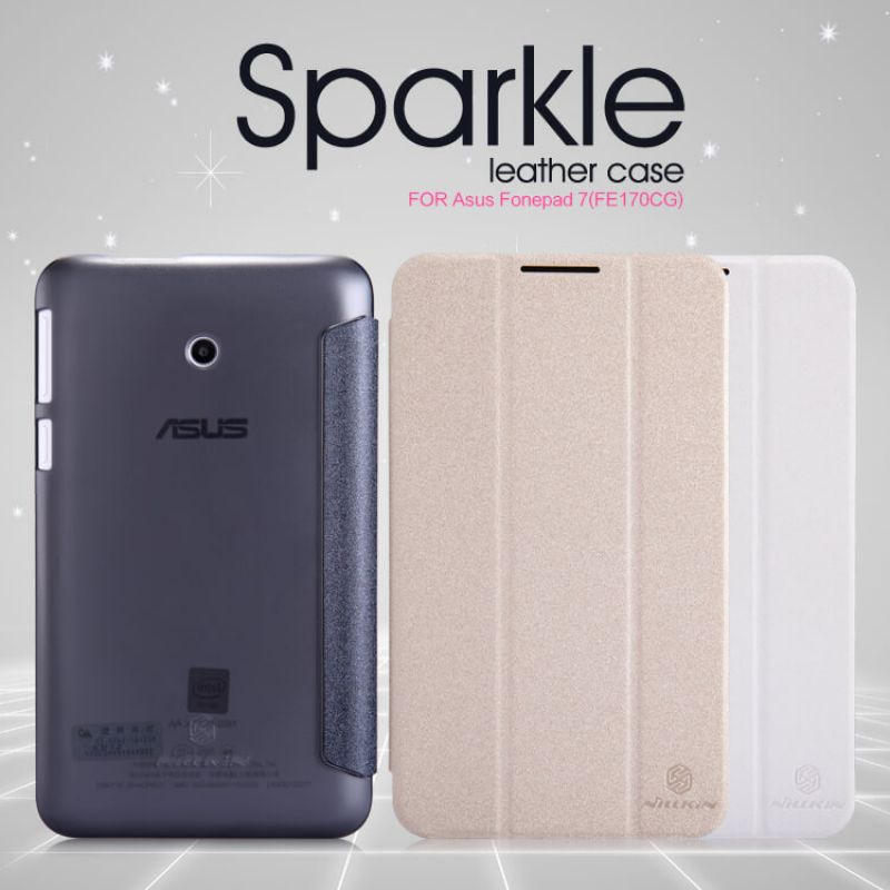 Nillkin Sparkle Series New Leather case for ASUS FonePad 7 (FE170CG) order from official NILLKIN store