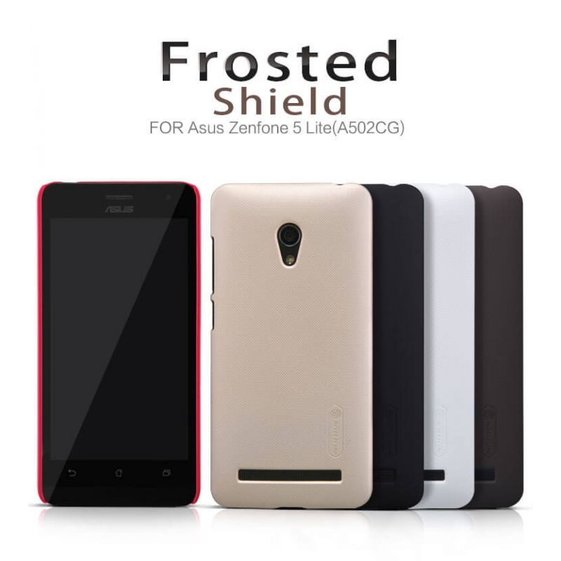 Nillkin Super Frosted Shield Matte cover case for ASUS ZenFone 5 Lite (A502CG) + free screen protector order from official NILLKIN store