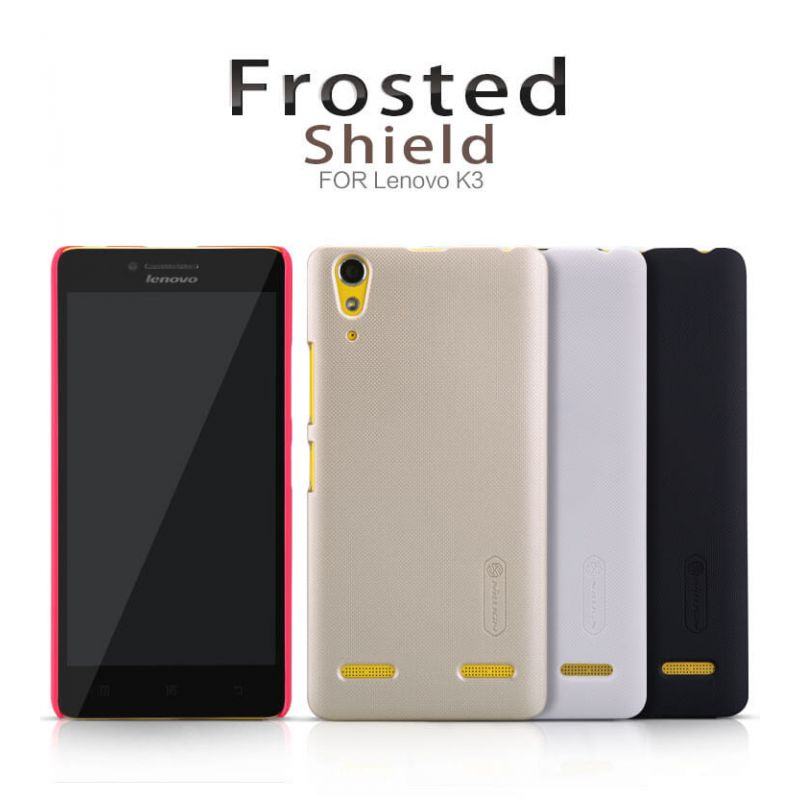 Nillkin Super Frosted Shield Matte cover case for Lenovo K3 (A6000 K30-W) + free screen protector order from official NILLKIN store