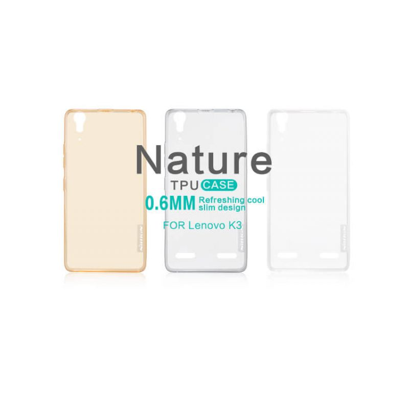 Nillkin Nature Series TPU case for Lenovo K3 (A6000 K30-W) order from official NILLKIN store