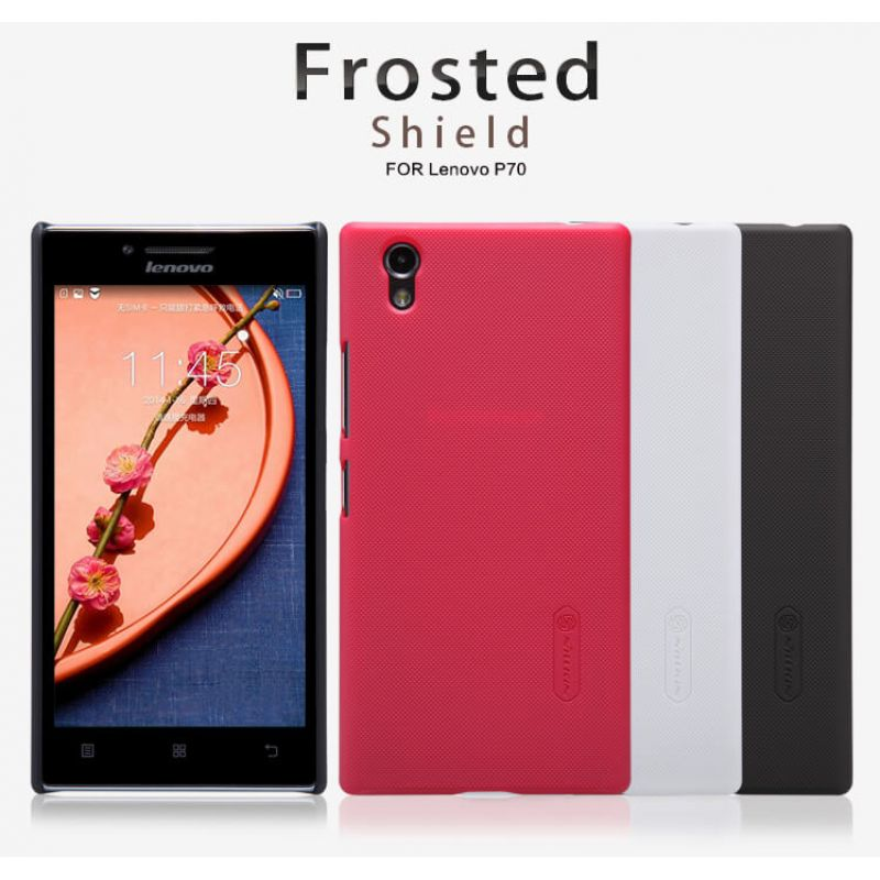 Nillkin Super Frosted Shield Matte cover case for Lenovo P70 (P70t) + free screen protector order from official NILLKIN store
