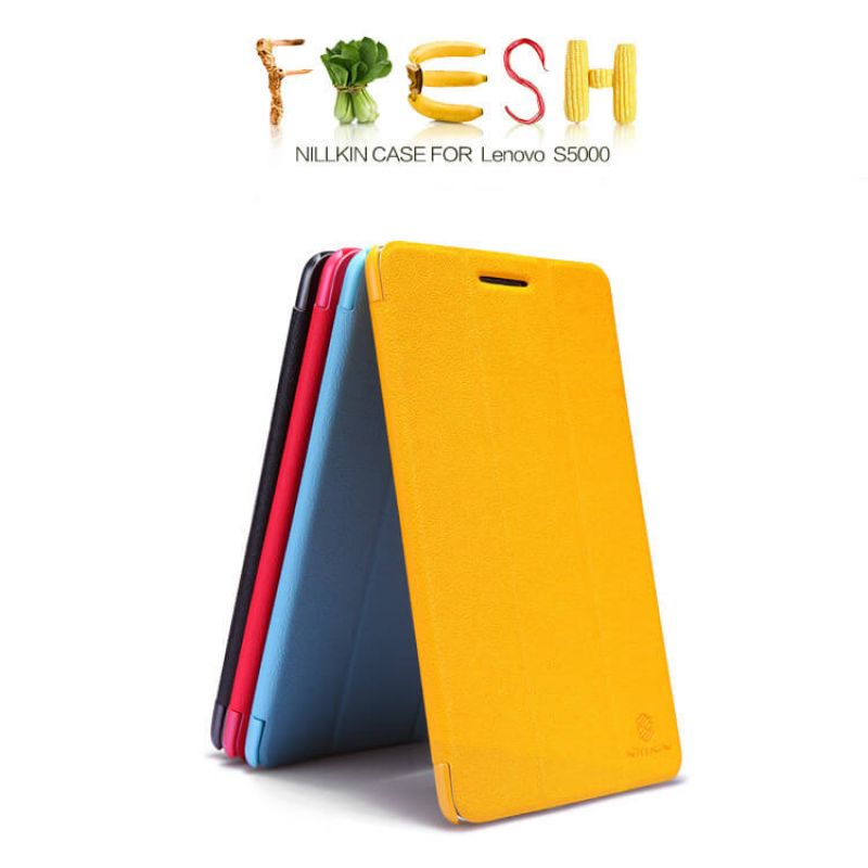 Nillkin Fresh Series Leather case for Lenovo S5000 order from official NILLKIN store