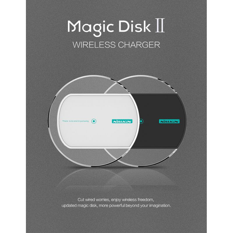 Nillkin Qi Wireless Charger Magic Disk 2 order from official NILLKIN store