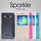Nillkin Sparkle Series New Leather case for Samsung Galaxy A5 (A5000 A500H A500F) order from official NILLKIN store