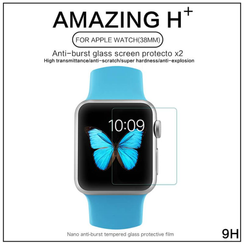 Nillkin Amazing H+ tempered glass screen protector for Apple Watch 38мм order from official NILLKIN store