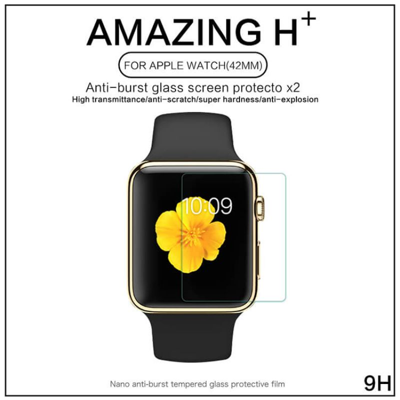 Nillkin Amazing H+ tempered glass screen protector for Apple Watch 42мм order from official NILLKIN store