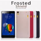 Nillkin Super Frosted Shield Matte cover case for Lenovo K3 Note (A7000 A7000 Plus) + free screen protector order from official NILLKIN store