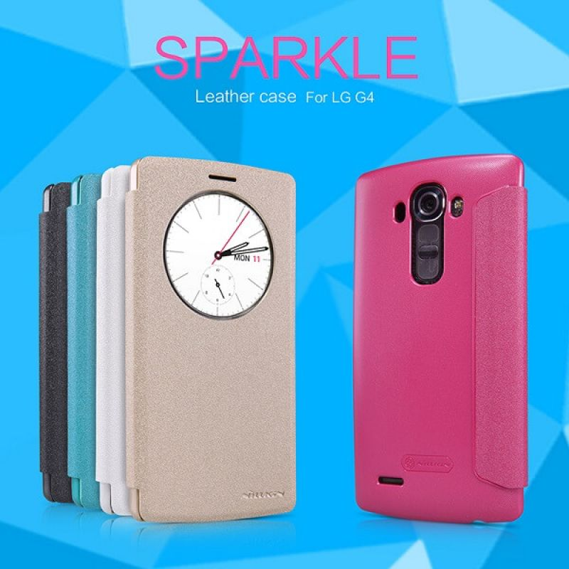 Nillkin Sparkle Series New Leather case for LG G4 (H810/H815/VS999/F500/F500S/F500K/F500L) order from official NILLKIN store