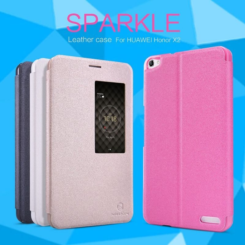 Nillkin Sparkle Series New Leather case for Huawei Honor X2 order from official NILLKIN store