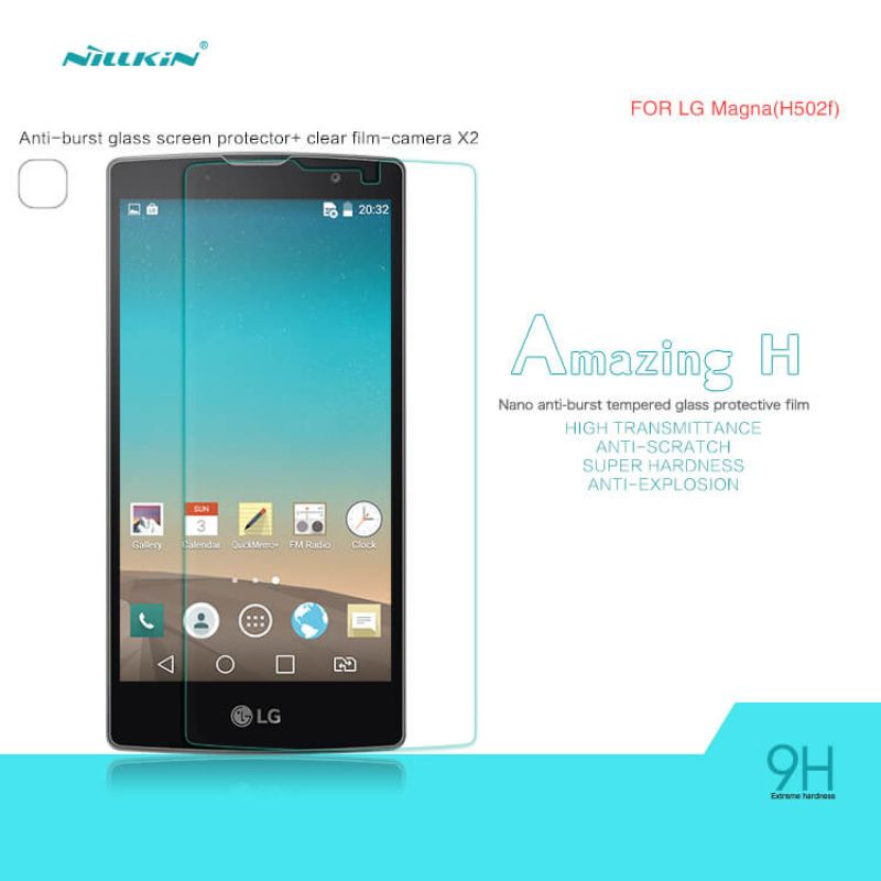 Nillkin Amazing H tempered glass screen protector for LG Magna (H502F H500F C90) order from official NILLKIN store