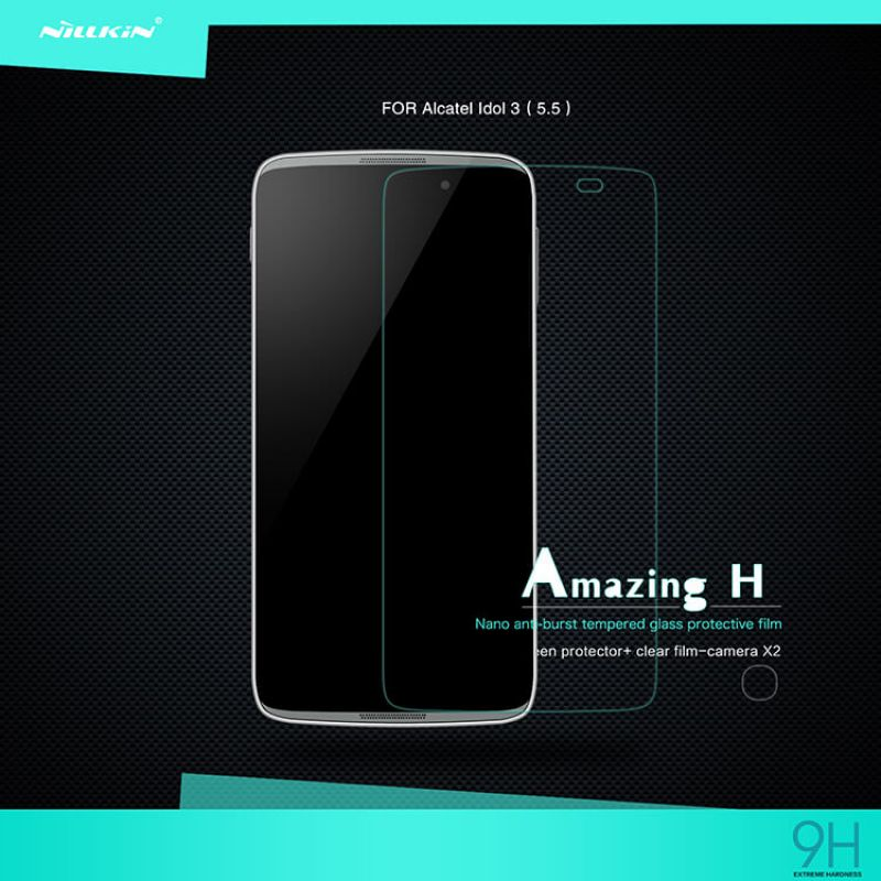 Nillkin Amazing H tempered glass screen protector for Alcatel Idol 3 (5.5) (6045/6045Y) order from official NILLKIN store