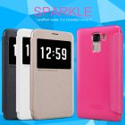 Nillkin Sparkle Series New Leather case for Huawei Honor 7 (PLK-TL01H) order from official NILLKIN store