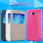Nillkin Sparkle Series New Leather case for Samsung J7 (J7008) order from official NILLKIN store
