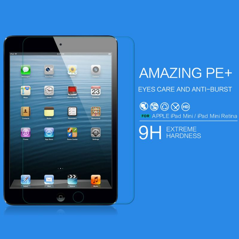 Nillkin Amazing PE+ tempered glass screen protector for Apple iPad Mini 3 order from official NILLKIN store