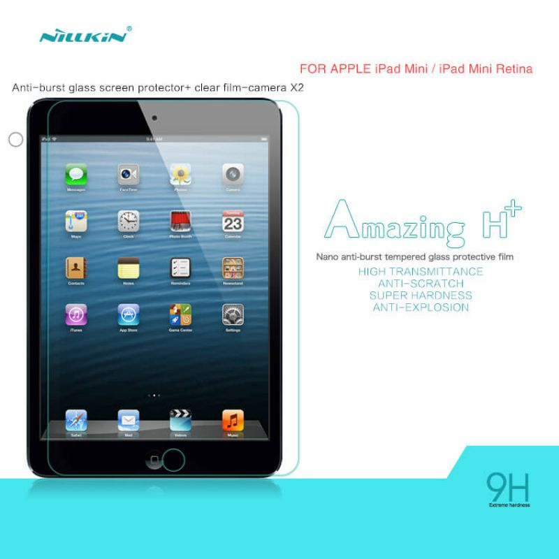 Nillkin Amazing H+ tempered glass screen protector for Apple iPad Mini 3 order from official NILLKIN store