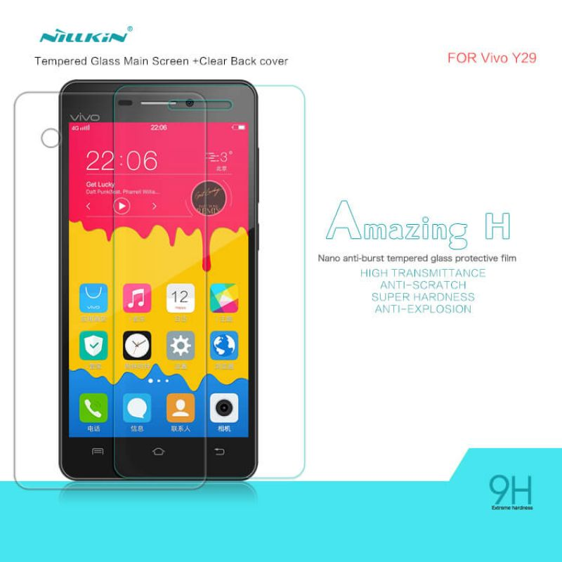 Nillkin Amazing H tempered glass screen protector for BBK Vivo Y29 order from official NILLKIN store