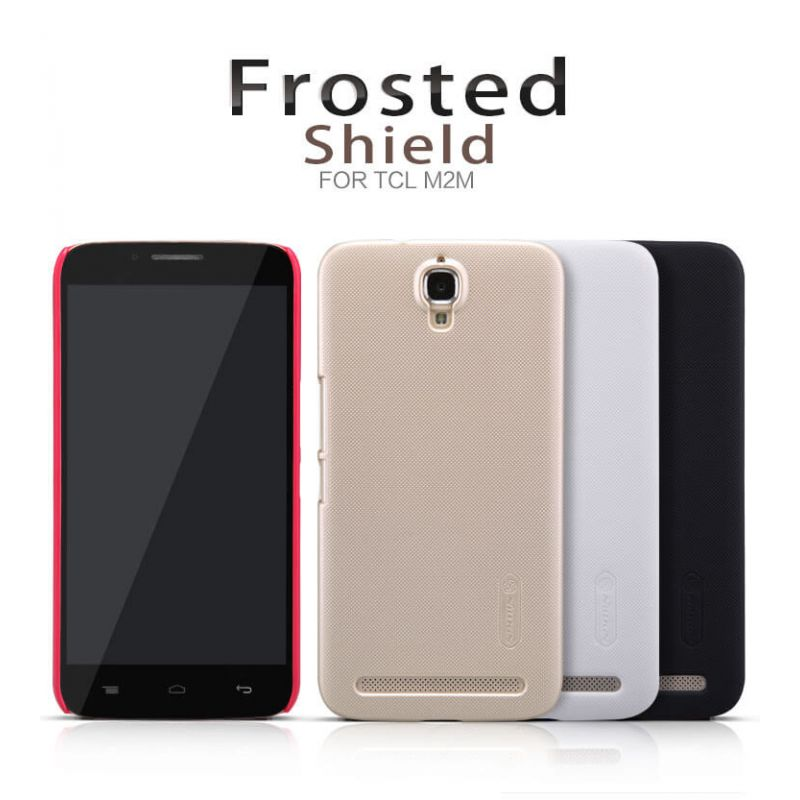 Nillkin Super Frosted Shield Matte cover case for TCL M2M (3N M2U S720T) + free screen protector order from official NILLKIN store