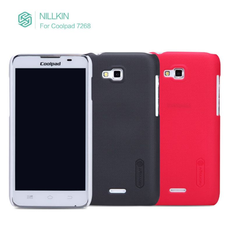 Nillkin Super Frosted Shield Matte cover case for Coolpad 7268 + free screen protector order from official NILLKIN store