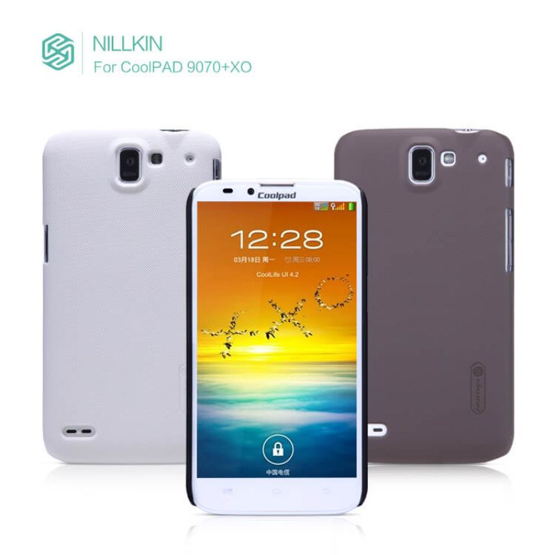 Nillkin Super Frosted Shield Matte cover case for Coolpad 9070+XO + free screen protector order from official NILLKIN store