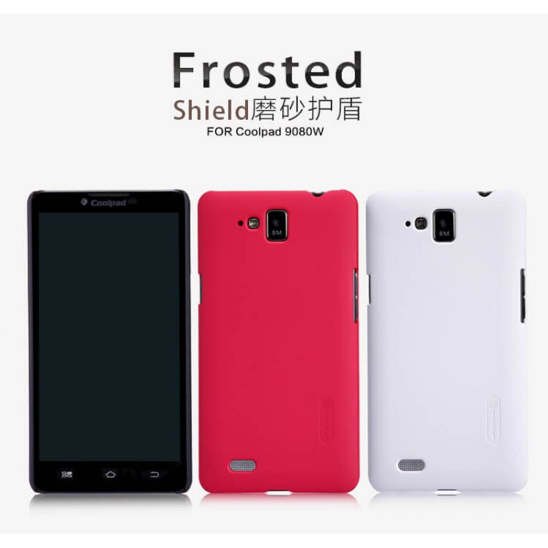 Nillkin Super Frosted Shield Matte cover case for Coolpad 9080W + free screen protector order from official NILLKIN store