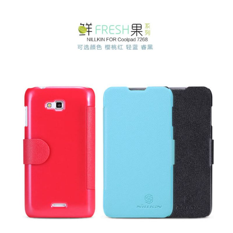 Nillkin Fresh Series Leather case for Coolpad 7268