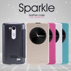 Nillkin Sparkle Series New Leather case for LG L Fino (D295 D295f G2 Lite D295 D290N D290) order from official NILLKIN store