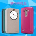 Nillkin Sparkle Series New Leather case for LG G4 Beat (G4s G4 mini G4 s) order from official NILLKIN store