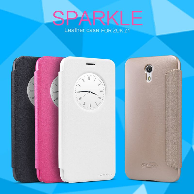 Nillkin Sparkle Series New Leather case for Zuk Z1 (Z1221) order from official NILLKIN store