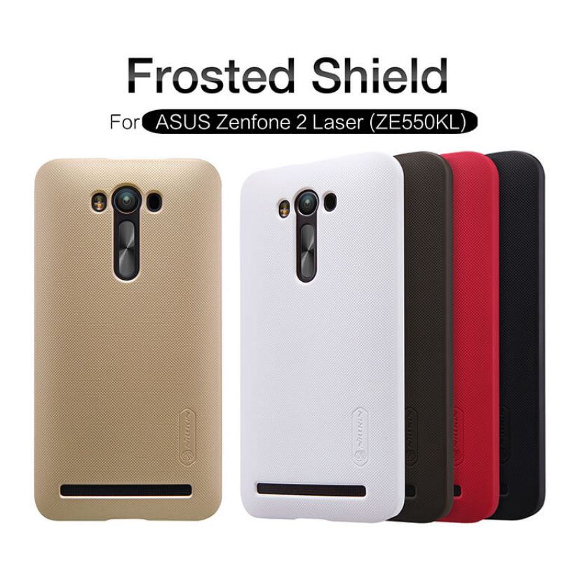 Nillkin Super Frosted Shield Matte cover case for Asus Zenfone 2 Laser (ZE550KL) + free screen protector order from official NILLKIN store