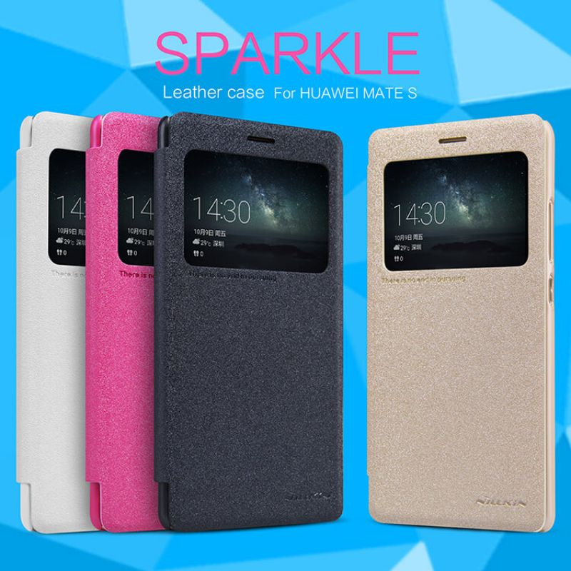 Nillkin Sparkle Series New Leather case for Huawei Ascend Mate S (SCRR-UL00 Huawei Mates) order from official NILLKIN store