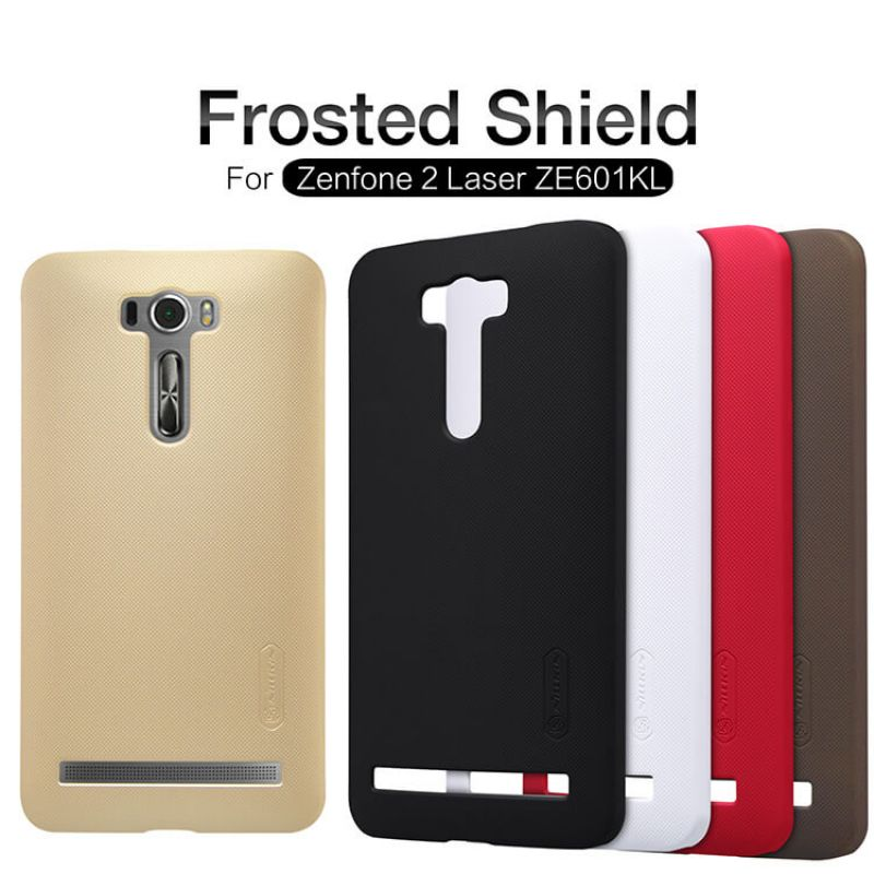Nillkin Super Frosted Shield Matte cover case for Asus Zenfone 2 Laser (ZE601KL) + free screen protector order from official NILLKIN store