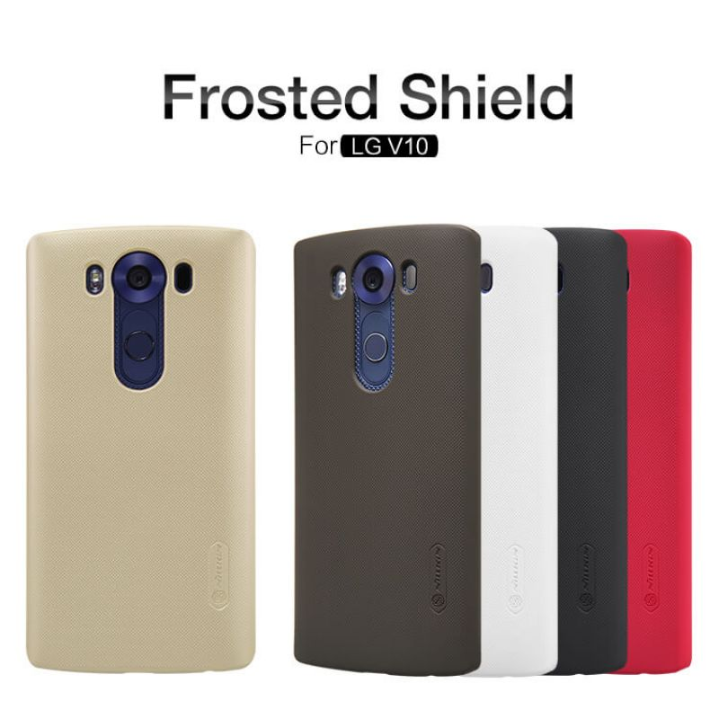 Nillkin Super Frosted Shield Matte cover case for LG V10 (H968) + free screen protector order from official NILLKIN store