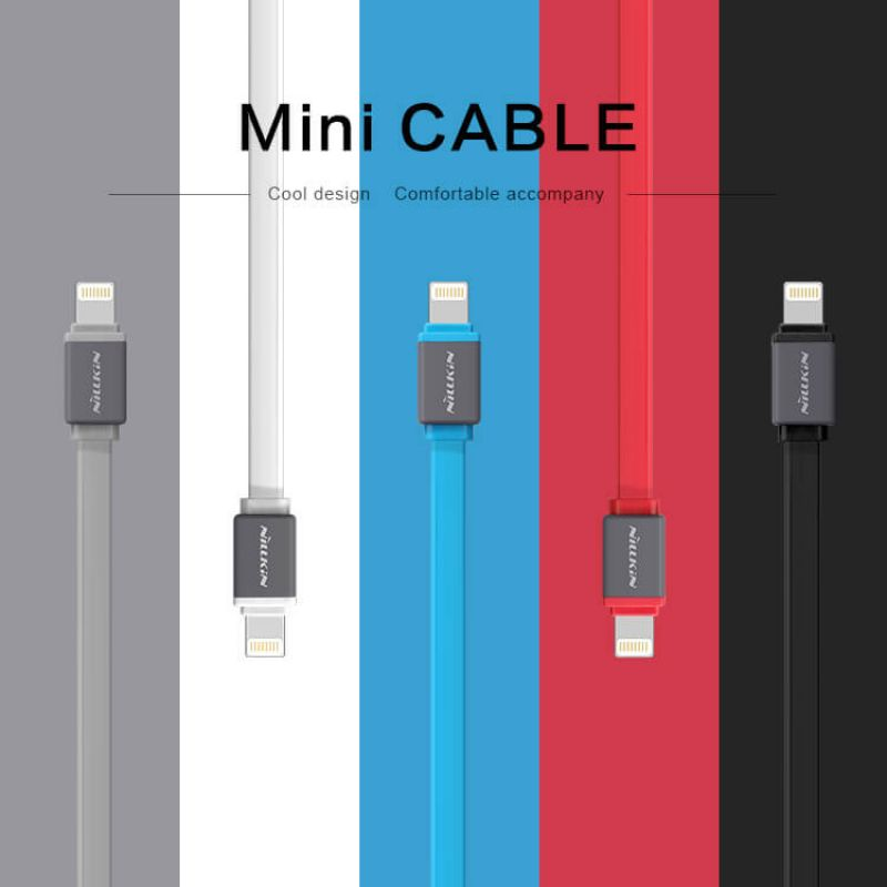 Nillkin Aurora Mini Lightning high quality cable order from official NILLKIN store
