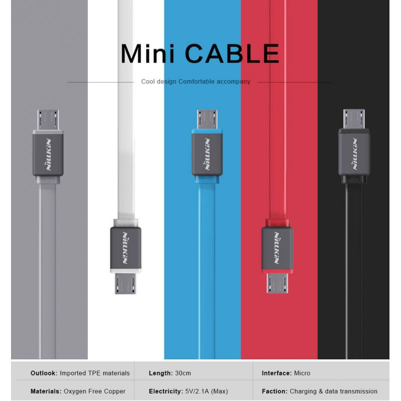 Nillkin MiNi Cable (Micro port) high quality cable order from official NILLKIN store