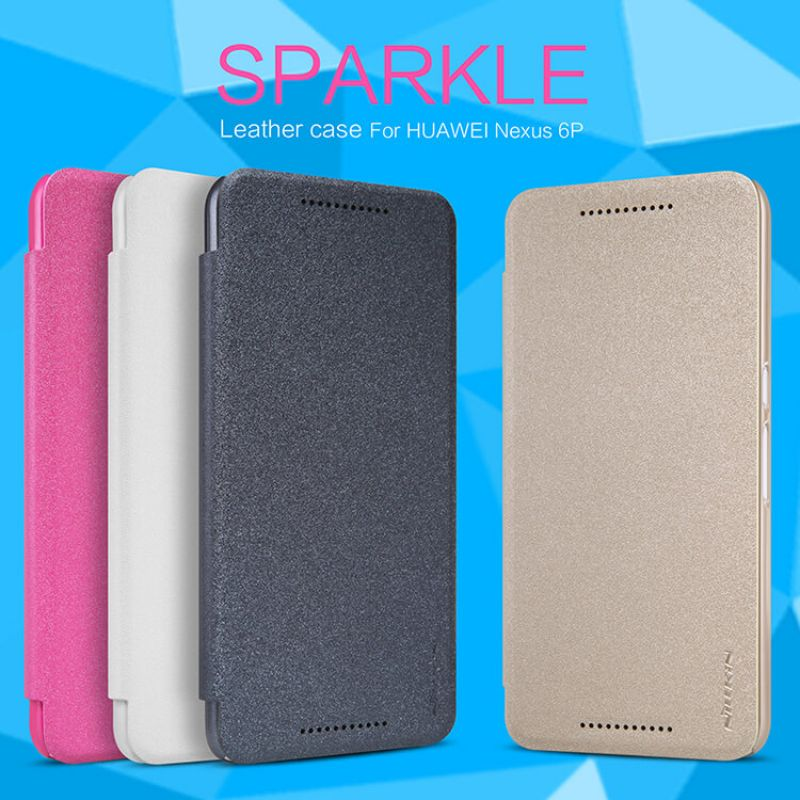 Nillkin Sparkle Series New Leather case for Huawei Nexus 6P order from official NILLKIN store